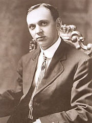 Portrait of Edgar Cayce (click to view image source)