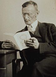 Portrait of Hermann Hesse (click to view image source)