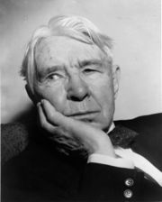 Portrait of Carl Sandburg (click to view image source)