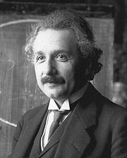 Portrait of Albert Einstein (click to view image source)