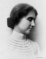 Portrait of Helen Keller (click to view image source)
