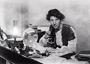 Portrait of Marie Stopes (click to view image source)