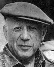 Portrait of Pablo Picasso  (click to view image source)