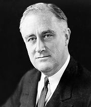 Portrait of Franklin D. Roosevelt (click to view image source)