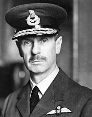 Portrait of Hugh Dowding (click to view image source)