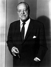 Portrait of Ludwig Mies van Der Rohe  (click to view image source)