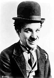 Portrait of Charles Chaplin (click to view image source)