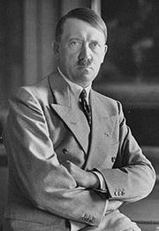 Portrait of Adolf Hitler (click to view image source)