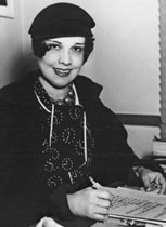 Portrait of Anita Loos (click to view image source)