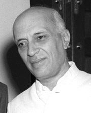 Portrait of Jawaharlal Nehru (click to view image source)
