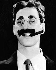 Portrait of Groucho Marx (click to view image source)