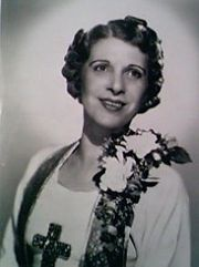 Portrait of Aimee Semple McPherson (click to view image source)