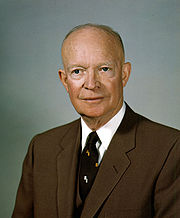 Portrait of Dwight D. Eisenhower (click to view image source)