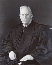 Portrait of Earl Warren (click to view image source)