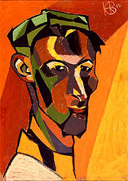 Portrait of Henri Gaudier-Brzeska (click to view image source)