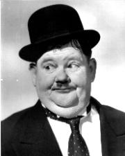 Portrait of Oliver Hardy (click to view image source)