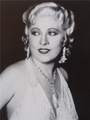 Portrait of Mae West (click to view image source)