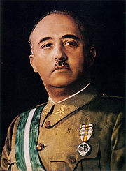 Portrait of Francisco Franco (click to view image source)