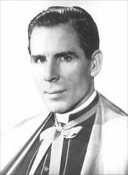 Portrait of Bishop Fulton John Sheen (click to view image source)