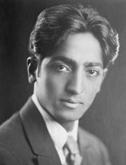 Portrait of Jiddu Krishnamurti (click to view image source)