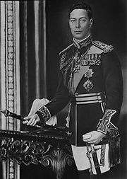 Portrait of King of England George VI (click to view image source)