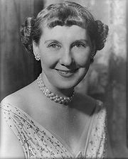 Portrait of Mamie Eisenhower (click to view image source)