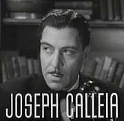 Portrait of Joseph Calleia (click to view image source)