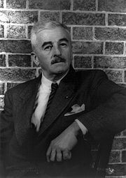 Portrait of William Faulkner (click to view image source)