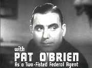 Portrait of Pat O'Brien (click to view image source)
