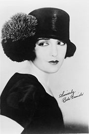 Portrait of Bebe Daniels (click to view image source)