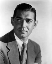 Portrait of Clark Gable (click to view image source)