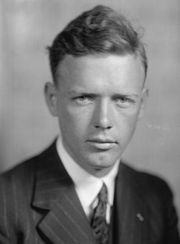 Portrait of Charles Lindbergh (click to view image source)