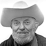 Portrait of Ansel Adams  (click to view image source)