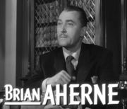 Portrait of Brian Aherne (click to view image source)