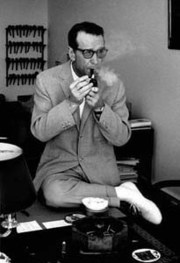 Portrait of Georges Simenon (click to view image source)