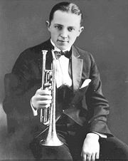 Portrait of Bix Beiderbecke (click to view image source)