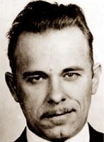Portrait of John Dillinger (click to view image source)