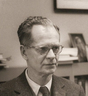 Portrait of B.F. Skinner (click to view image source)