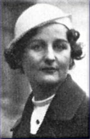 Portrait of Nancy Mitford  (click to view image source)