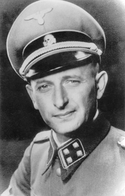 Portrait of Adolf Eichmann  (click to view image source)