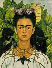 Portrait of Frida Kahlo (click to view image source)