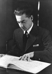 Portrait of Herbert von Karajan (click to view image source)
