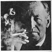 Portrait of Ian Fleming  (click to view image source)