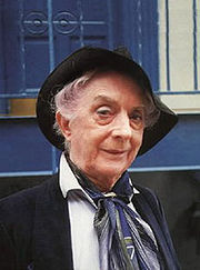 Portrait of Quentin Crisp (click to view image source)