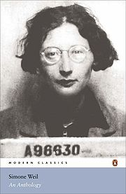Portrait of Simone Weil (click to view image source)
