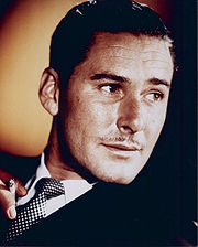 Portrait of Errol Flynn (click to view image source)