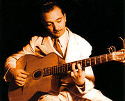 Portrait of Django Reinhardt  (click to view image source)
