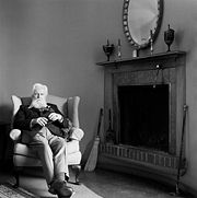 Portrait of Robertson Davies (click to view image source)