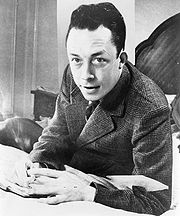 Portrait of Albert Camus (click to view image source)