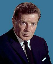 Portrait of Richard Basehart (click to view image source)